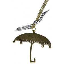Gouden Paraplu Ketting