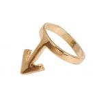 Gouden Pijl Ring