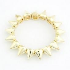 Gouden Pinnen Armband
