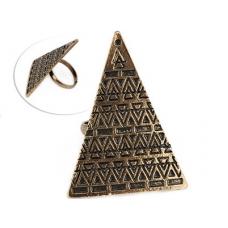 Gouden Pyramide Ring