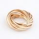 Gouden Ringen Nest Ring