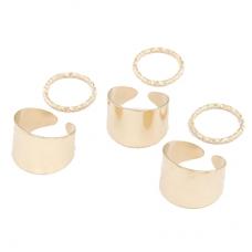 Gouden Ringen Set IV