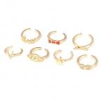 Gouden Ringen Set VI