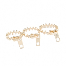 Gouden Rits Ringen Set