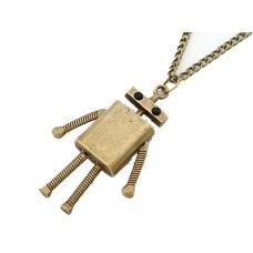 Gouden Robot Ketting