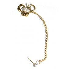 Gouden Schorpioen Ear Cuff