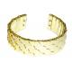 Gouden Schubben Armband
