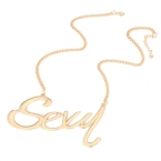 Gouden Sexy Ketting