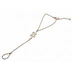 Gouden Slang Vinger Armband