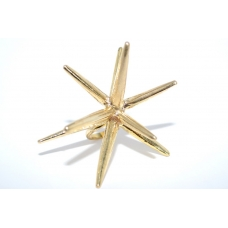 Gouden Spikes Ring