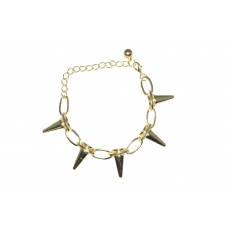 Gouden Spikes Armband