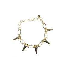 Gouden Spikes Armband