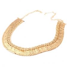 Gouden Unieke Halsketting