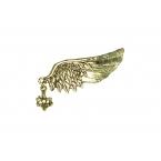 Gouden Vleugel Brooche Met Hanger