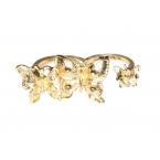 Gouden Vlinders Ring