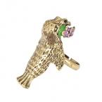 Gouden Zeehond Ring