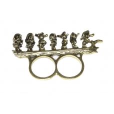 Gouden Zeven Dwergen Ring