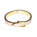Goud Met Roze Riem Armband