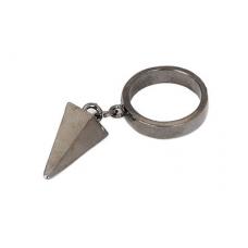 Grijze Ring Met Pin