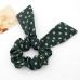 Groen Met Beige Stippen Haarband