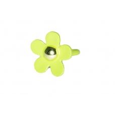 Groene Bloem Ring