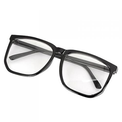 grote zwarte bril