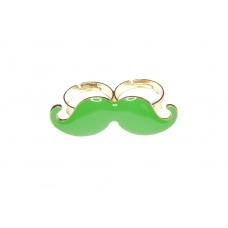 Grote Groene Snor Ring