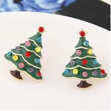 Kerstbomen Oorbellen