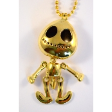 Gouden Alien Ketting