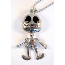 Zilveren Alien Ketting