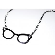 Zwarte Brillen Ketting