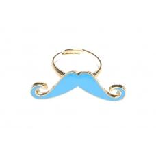 Kleine Blauwe Snor Ring II