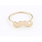 Kleine Gouden Snor Ring