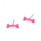 Kleine Roze Bot Oorbellen
