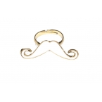 Kleine Witte Snor Ring II