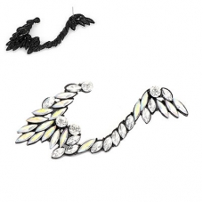 Kristallen Angel Wing Ear Cuff
