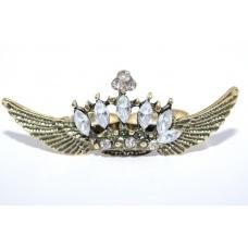 Kroon met Vleugels Ring