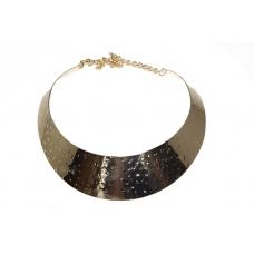 Licht Gouden Band Hals Ketting
