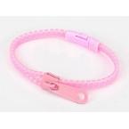 Licht Roze Rits Armband