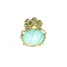 Licht Turqoise Classic Ring