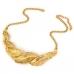 Luxe Gouden Bladeren Ketting