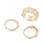 Luxe Gouden Ringen Set