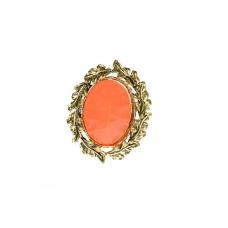 Oranje Laurierkrans Ring