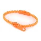Oranje Rits Armband