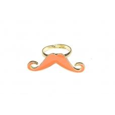 Oranje Snor Ring