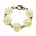 Oud Gouden Bloem Armband