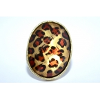 Ovale Panter Ring
