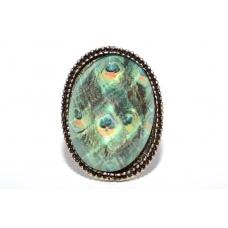 Ovale Pauw Ring