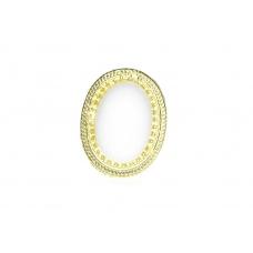 Ovale Witte Steen Ring