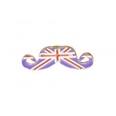 Paarse Britse Vlag Snor Ring